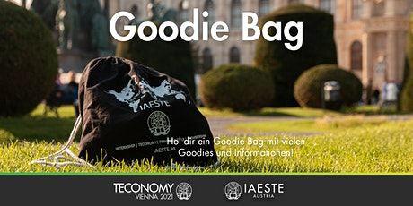 Goodie Bag Ausgabe der TECONOMY Vienna 2021 tickets