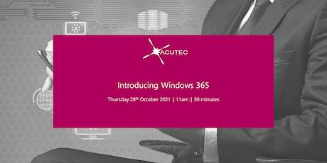 Webinar: Windows 365 tickets