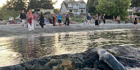 FULL MOON HOWL BeachDANCE, opening w  First Nations prayer songs tickets