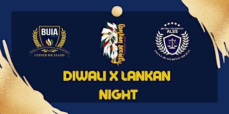 Diwali x Lankan Night tickets
