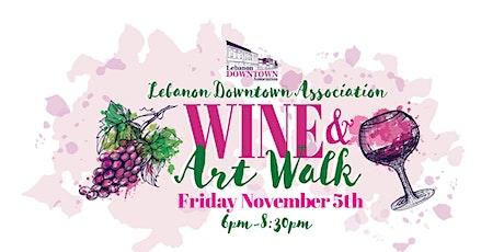 Wine & Art Walk tickets