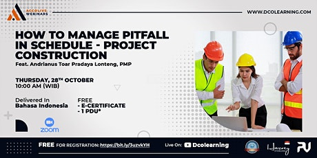 How to Manage Pitfall in Schedule - Project Construction tickets