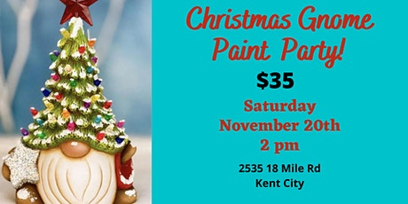 Christmas Gnome Paint Party tickets