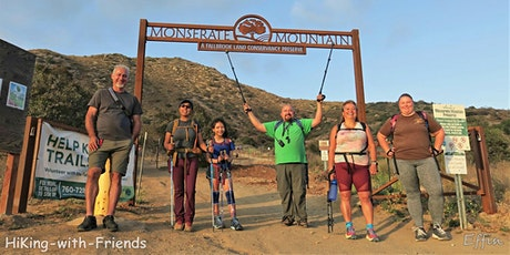 Hiking-with-Friends ~ Monserate Mountain Night HiKe tickets