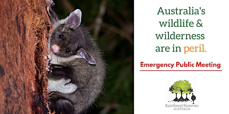 Our Wilderness is in Peril - Emergency Public Meeting tickets