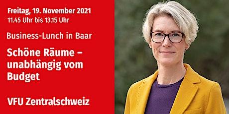 Business-Lunch in Baar, Zentralschweiz, 19.11.2021 Tickets