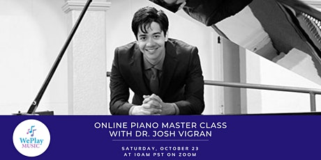 Piano Master Class with Dr. Josh Vigran tickets