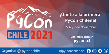 PyCon Chile 2021 entradas
