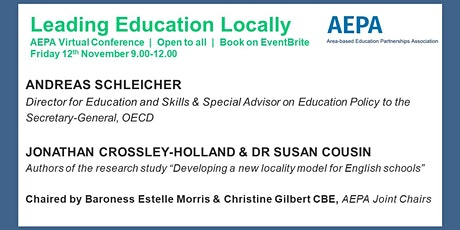 AEPA Virtual Conference : Leading Education Locally tickets