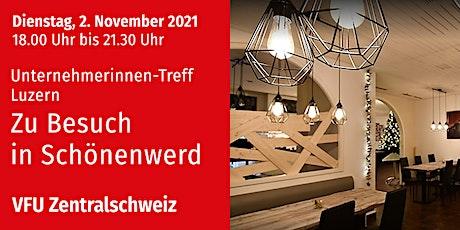 Unternehmerinnen-Treff in Schönenwerd, Zentralschweiz, 2.11.2021 Tickets