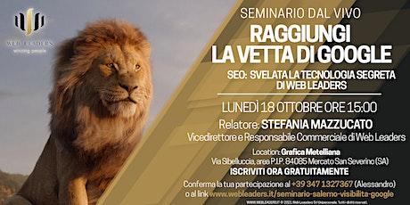 Seminari gratuiti il 18 e 19 Ottobre sul web marketing a Salerno biglietti