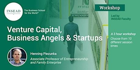 INSEAD Workshop: Venture Capital, Business Angels, and Starts Ups entradas
