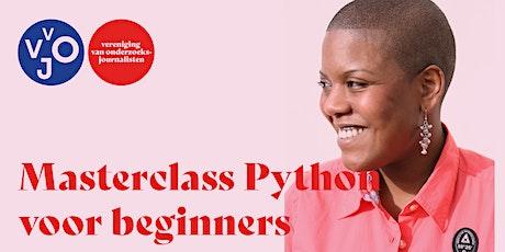 Masterclass Python voor beginners tickets