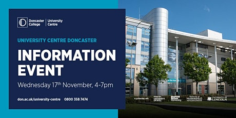 University Centre Information Event tickets