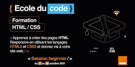 Formation HTML5/CSS3 billets