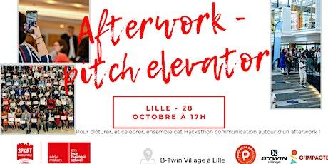 Afterwork Hackathon Communication - Entrepreneurs dans la Ville Lille billets