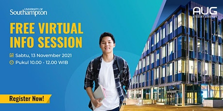 University of Southampton - Free Virtual Info Session tickets