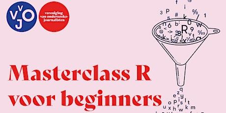 Masterclass R voor beginners tickets