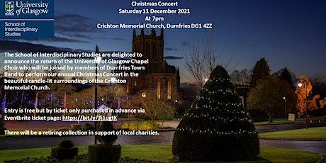Christmas Concert - University of Glasgow Chapel Choir & Dumfries Town Band tickets