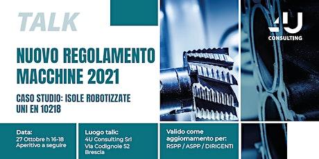 NUOVO REGOLAMENTO MACCHINE 2021 biglietti
