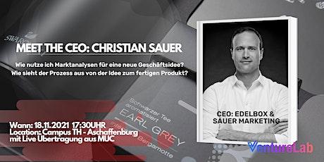 MEET THE CEO: Christian Sauer - Edelbox & Sauer Marketing Tickets