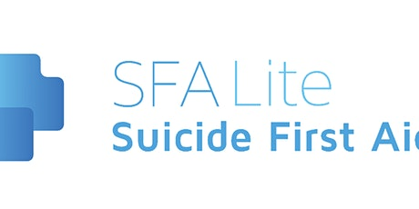 Suicide First Aid Lite tickets