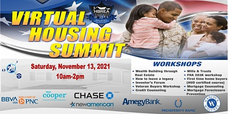 Free Virtual Housing Summit with the Houston Black Real Estate Association tickets