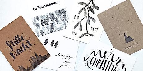 Arthouse: Selbstgestaltete Weihnachtspost | 19  - 20.30 h | Für Erwachsene Tickets