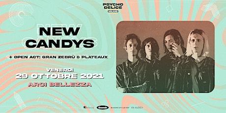 Psychodelice Milano w/ New Candys + Guests biglietti