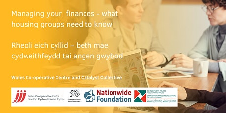 Managing your finances - what housing groups need to know tickets