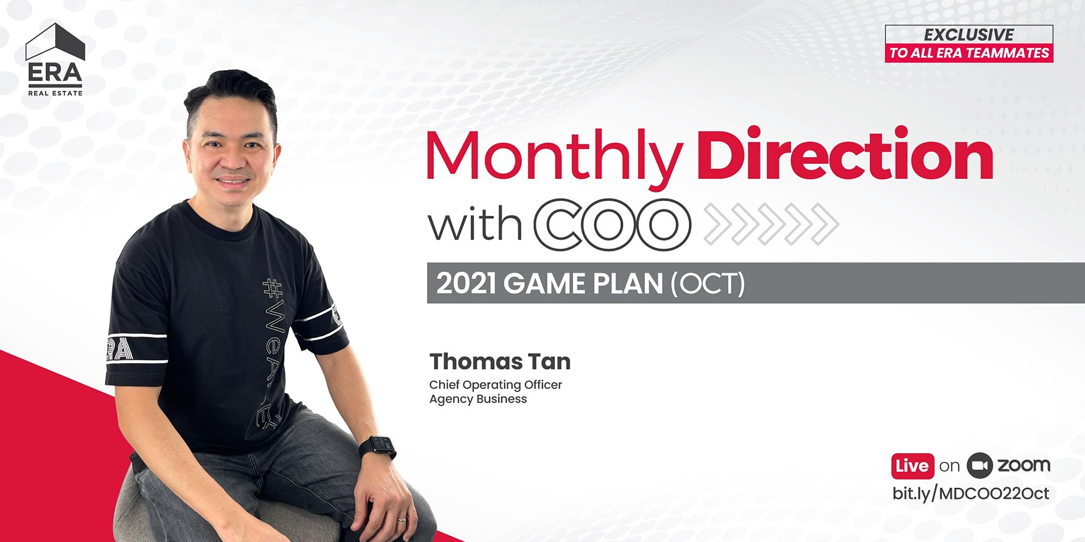 Monthly Direction with COO Thomas Tan