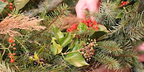 Wreath-making morning workshop tickets