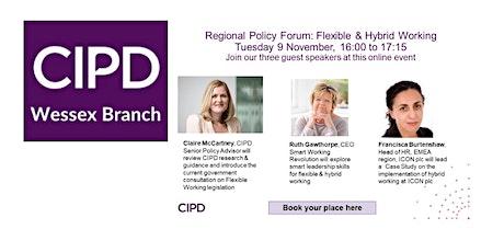 SW Regional Policy Forum: Flexible & Hybrid Working tickets