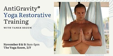 AntiGravity® Yoga Restorative Training with Tamer Begum tickets
