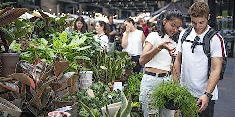 Green Rooms houseplant market at Mercato Metropolitano tickets