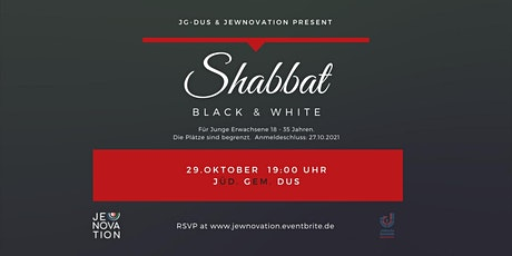 Shabbat Black and White Tickets