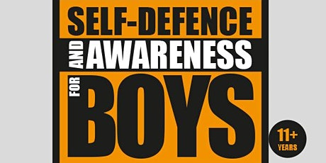 Self-defence and Awareness for boys tickets