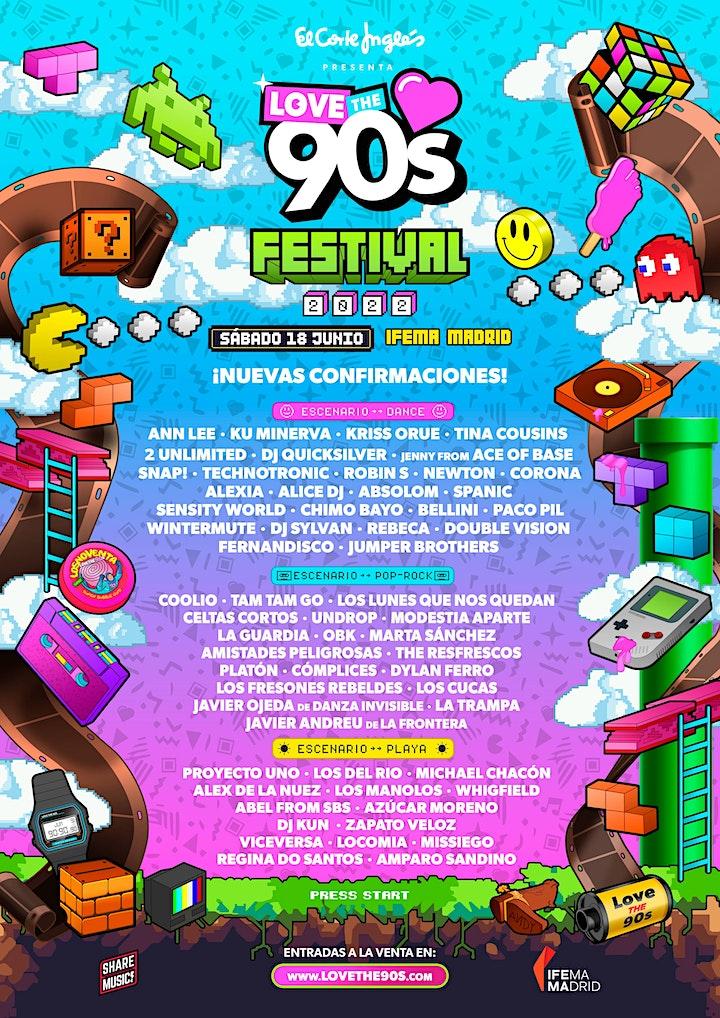 Imagen de Love the 90's Festival