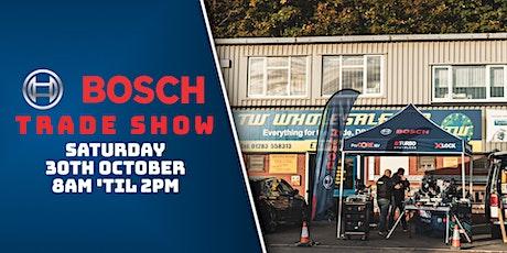 Bosch Trade Show - 30th October 2021 tickets