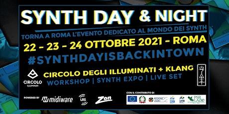 Synth Day & Night   23.10   CIRCOLO DEGLI ILLUMINATI biglietti