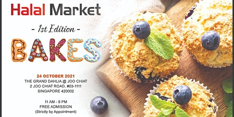 Halal Market x Home Based Business (HBB) Edition 1: Bakes tickets