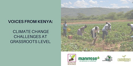 Voices from Kenya: Climate change challenges at the Grassroots Level tickets