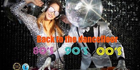 Back to the dancefloor 80s 90s 00s tickets