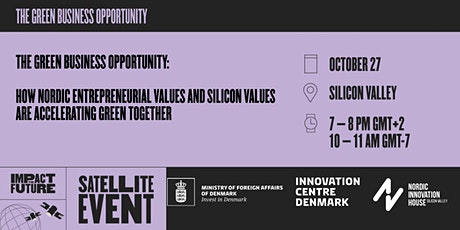 Nordic entrepreneurial values and Silicon Valley's Thriving Ecosystem tickets