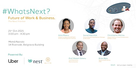 Whats Next: Future of Work & Business tickets