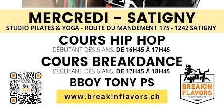 Cours HipHop & Breakdance Satigny billets