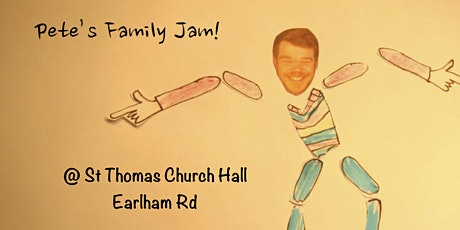 Pete's Family Jam (Indoor) @ St Thomas' Church Hall - Oct 19th tickets