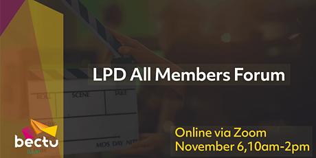 London Production Division All Members Forum tickets