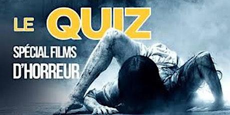 Ciné Quiz spécial Halloween billets