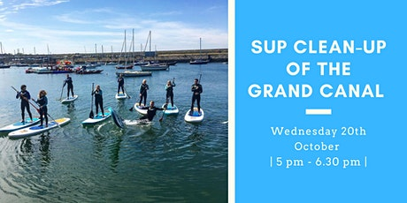 Paddle board clean-up of the Grand Canal tickets